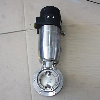 BARDIANI ZVF Pneumatic Actuated Butterfly Valve Actuator DN65 BSM Stainless