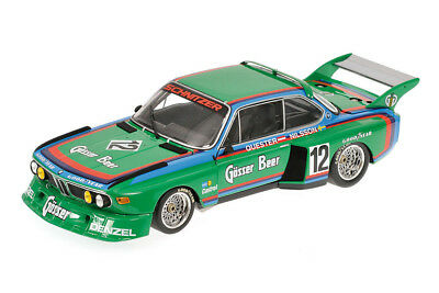 Minichamps 180762012 1:18 BMW 3.5 CSL GR 5 WINNER 6H ZELTWEG 1976 GREEN