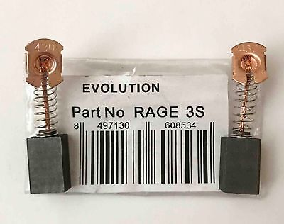 Carbon Brushes For Evolution Fury 3-S 210mm Mitre Saw B&Q RECOMMENDED SELLER D2R