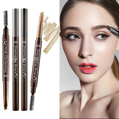 ETUDE HOUSE Drawing Eye Brow Waterproof Eyebrow Pen Liner Eye Makeup Long Last
