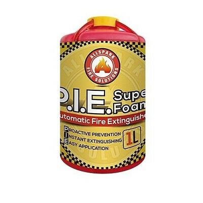 Automatic Fire Extinguisher/Sprinkler Replacement Super Foam 1L