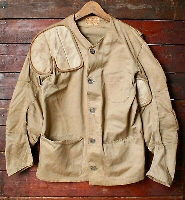 VTG 50s 10-X IMPERIAL PADDED RIGHT HAND DUCK HUNTING TARGET SHOOTING JACKET 40