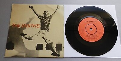 """The Smiths - The Boy With The Thorn In His Side UK 1985 Rough Trade 7"""" Push-Out"""