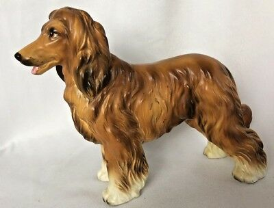 Vintage LEFTON Japan Afghan Hound, Dog Figurine