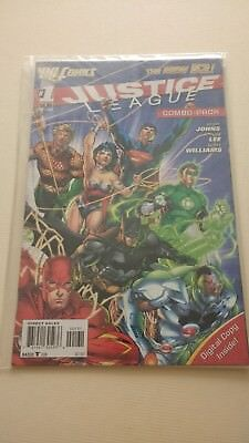 Justice League Issue 1 New 52 Combo Pack Sealed
