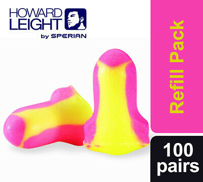 200 x Howard Leight Laser Lite Loose Packed Ear Plugs (100 Pairs) (FREE UK P&P)
