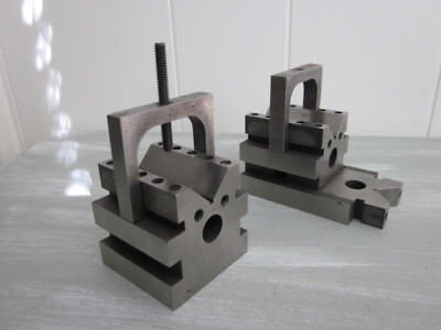 V Block, Machinist Precision V Blocks Made by Toolmaker USA