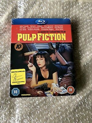 Pulp Fiction Play.com UK Exclusive Blu-Ray Steelbook Extremely Rare OOP OOS