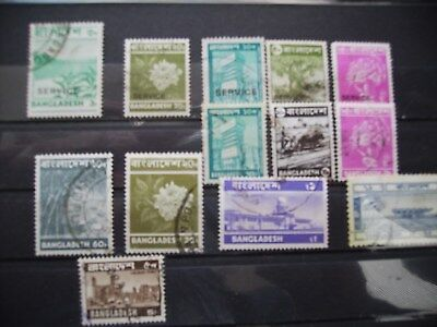 Lot Briefmarken aus Bangladesch