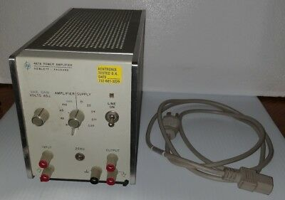 Hp Hewlett Packard 467A Power Amplifier