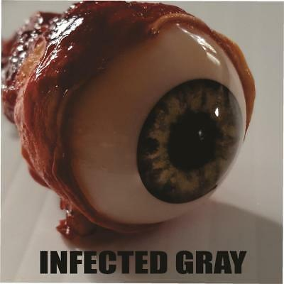 HALLOWEEN HORROR Movie PROP RIPPED OUT EYEBALL Infected Gray!