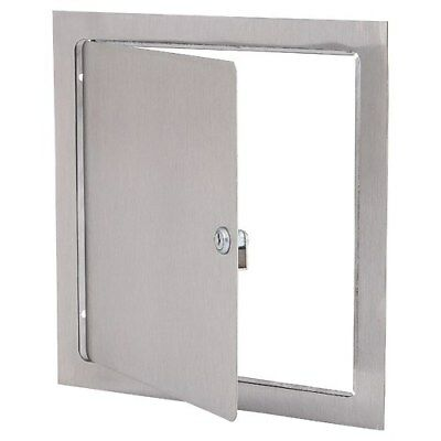 """Elmdor DW12X12SS-SDL 12"""" x 12"""" Stainless Steel Wall or Ceiling Access Panel"""