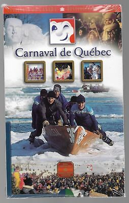 2001 Carnival de Quebec Canada Sterling Silver Fifty Cents