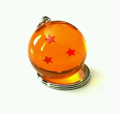New Dragon Ball Z - 3 Star Keychain keyring!