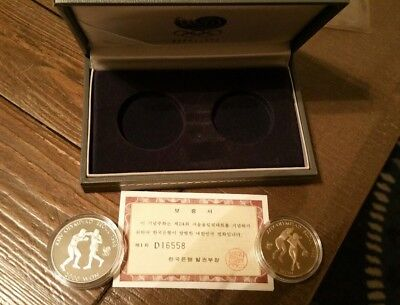 1988 Seoul Olympic Two Coin Set