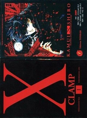 Manga X de CLAMP - The Magician Tome 1 Editions Tonkam 06-1997 VF