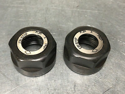 Iscar ER16 TOP Clamping Nut for DIN 6499 collet chuck (Lot of 2)