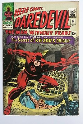 Daredevil #13 - 1965 Issue - Cents Issue - Marvel Comics