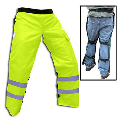 "FORESTER™ Safety Green Chainsaw Chaps 35"" Length (Short)    CHAP1135-SG"