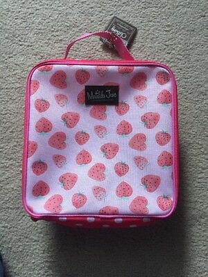 Matilda Jane Strawberry Right As Rain Boots Bag ONLY Camp MJC Adorable New!