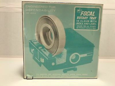 Focal Rotary Tray In Album With Index And Label Holds 100 2 X 2 Slides