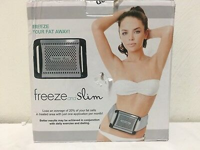 Slim Freezer Fat Reduction Freeze System with Power Adapter and Belt SHIPS FAST!