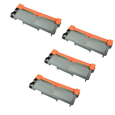 4PK TN660 Black Toner Cartridge For Brother HL-L2300 L2300D L2320D L2340 L2340DW