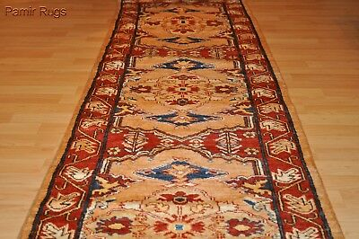 14 ft.  Long Hall runner TOP QUALITY HANDMADE Persian design narrow stair rug