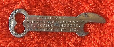 Silver Rock Ginger Ale Bottle Opener- Kansas City, MO !!
