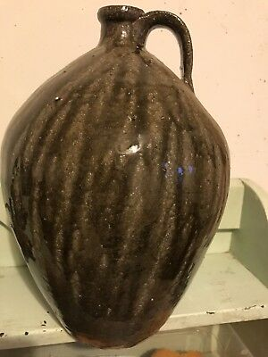 "Catawba Valley Gary Mitchell Wood Fired 13"" Tall Jug Mint Condition!!"
