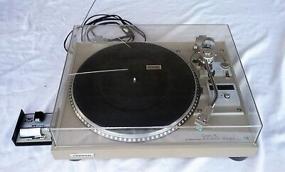 Pioneer Direct Drive Stereo Turn Table Record Player Pl-540 Quartz Pll Needle