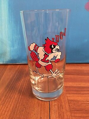 University of Louisville Cardinals Pint Glasses Set of 2 Thick Bottoms