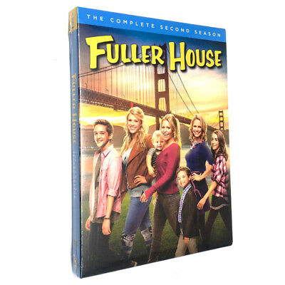Fuller House: The Complete Second Season 2 (DVD, 2017, 2-Disc Set) Brand New