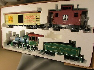 BACHMANN WEIL MCLAIN Boilers Big Hauler G Scale Train Set Contractor ...