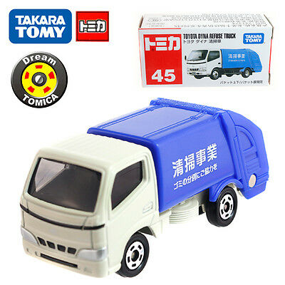 Tomica Takara Tomy Toyota Dyna Refuse Truck #45 NO.741374 Diecast Vehicle  Car