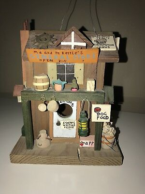 Decorative Handmade House Collectible