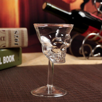 1Pc Crystal Skull Head Shot Whiskey Wine Glass Bottle Cup Glassware Quality
