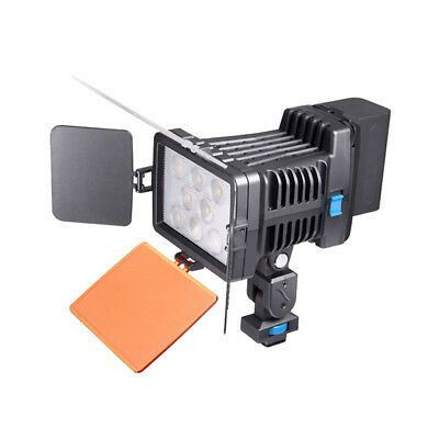 LED-5080 8pcs LED Video light Lamp Lighting For Canon DSLR Camcorder. Pro Nice
