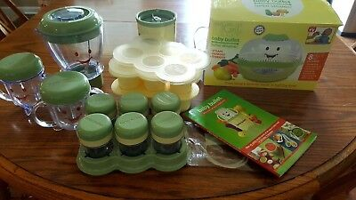 Magic Bullet Baby Bullet Set - Steamer, Blender, Storage Cups, Silicon Tray