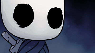 """001 Hollow Knight - ACT Action Game 24""""x14"""" Poster"""