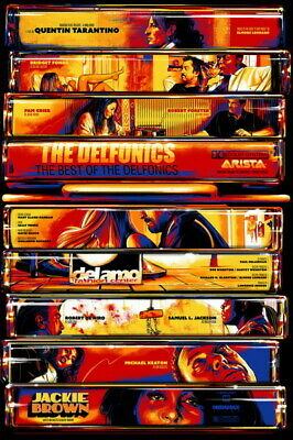 "001 Jackie Brown - Crime Thriller1997 USA Classic Movie 14""x21"" Poster"