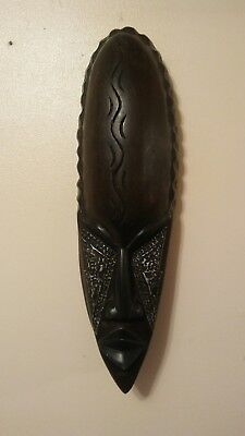 """18"""" Handcrafted African Tribal Face Mask Made in Ghana"""