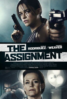"001 The Assignment - Michelle Rodriguez USA Action Movie 24""x35"" Poster"