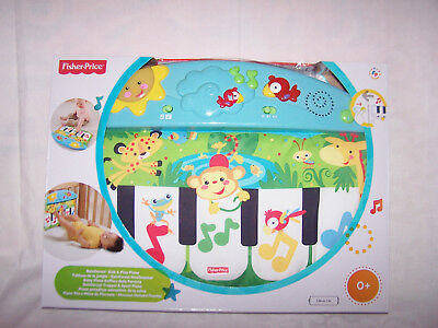 Baby Fisher Price Kick & Play Piano Rainforest Musikcenter  0+ in OVP