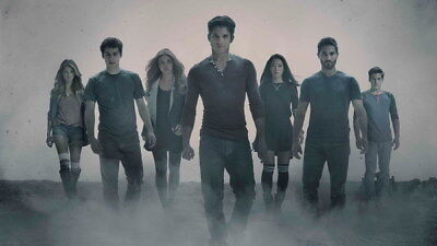 "004 Teen Wolf - MTV Blood Action Thriller TV Show 42""x24"" Poster"