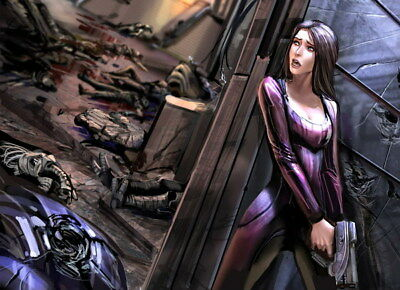 """004 Mass Effect 4 - ME Killer Fighting Shooting Hot TV Game 33""""x24"""" Poster"""