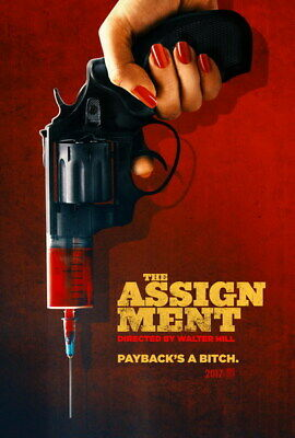 """003 The Assignment - Michelle Rodriguez USA Action Movie 24""""x35"""" Poster"""