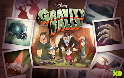 "004 Gravity Falls - Disney Mabel Pines USA Cartoons 22""x14"" Poster"