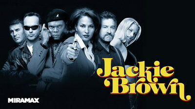 "004 Jackie Brown - Crime Thriller1997 USA Classic Movie 24""x14"" Poster"