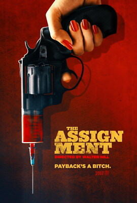 """003 The Assignment - Michelle Rodriguez USA Action Movie 14""""x20"""" Poster"""